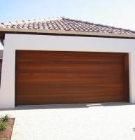 Real Cedar Sectional Garage Doors
